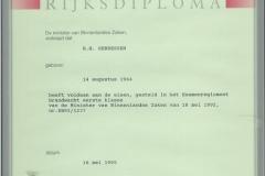 Certificaten en Diploma's 1