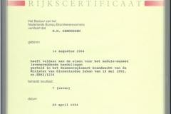 Certificaten en Diploma's 13