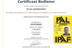 Certificaten en Diploma's 25
