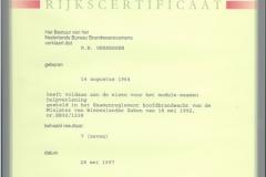 Certificaten en Diploma's 10