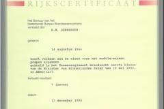Certificaten en Diploma's 15