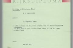 Certificaten en Diploma's 2