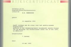 Certificaten en Diploma's 8